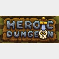 Heroic Dungeon Game + OST |Steam Key Instant|