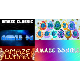 Amaze 5 Pack  Steam Key Instant 