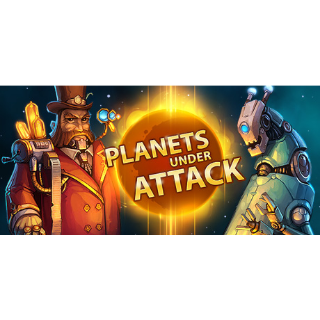 Planets Under Attack |Steam Key Instant|