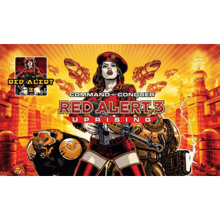 Command & Conquer Red Alert 3 Uprising |Instant Key|