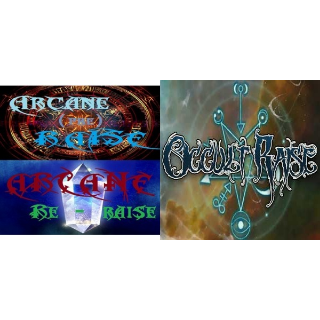3 Pack: Arcane ReRaise + Arcane PreRaise + Occult Raise |Steam Key Instant|