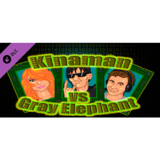 Kinaman vs Gray Elephant: Hard Level Pack |Steam Key Instant|