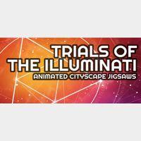 Trials of the Illuminati: Cityscape Animated Jigsaws |Steam Key Instant|