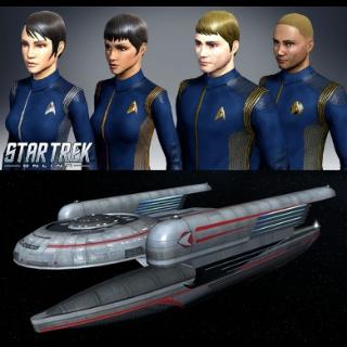 Star Trek Online Rise of Discovery Uniform & Oberth Light Science Vessel |Instant Key|