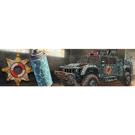 Crossout Beach Sheriff Pack |Instant Key| - Other Games
