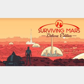 Surviving Mars Deluxe Edition  Steam Key Instant 