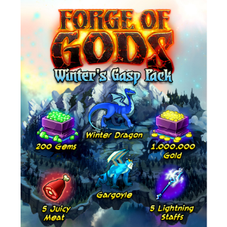Forge of Gods: Winter's Gasp Pack |Steam Key Instant|