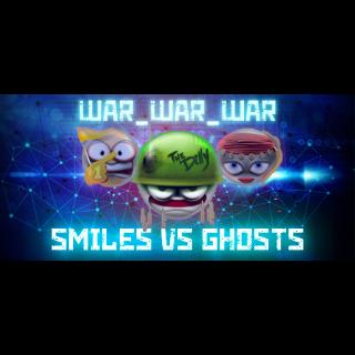 WAR_WAR_WAR: Smiles vs Ghosts |Steam Key Instant|