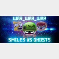 WAR_WAR_WAR: Smiles vs Ghosts |Steam Key Instant|