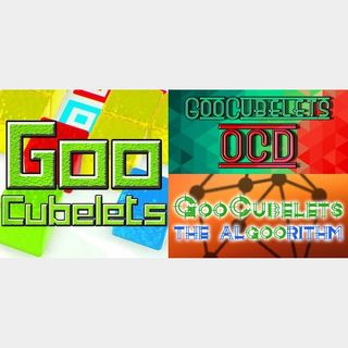 GooCubelets 3 Pack: GooCubelets + The Void + The Algoorithm |Steam Key|