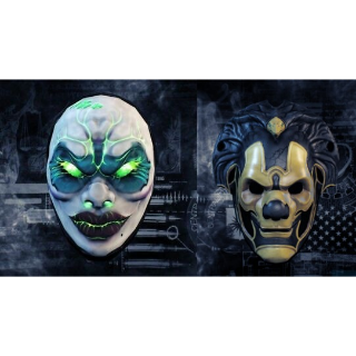 Payday 2 Exclusive Masks |Steam Instant Key|