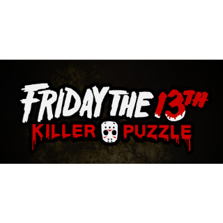 Friday the 13th Killer Puzzle Skins  Steam Key Instant 