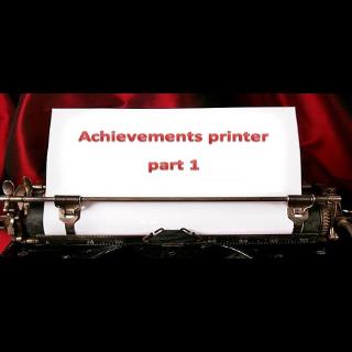 Achievements printer part 1 |Steam Key Instant|