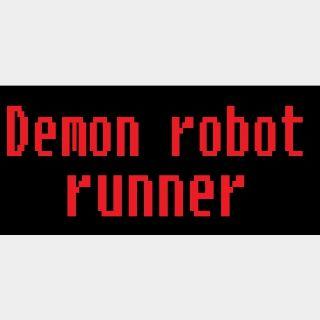 Demon robot runner |Steam Key Instant|