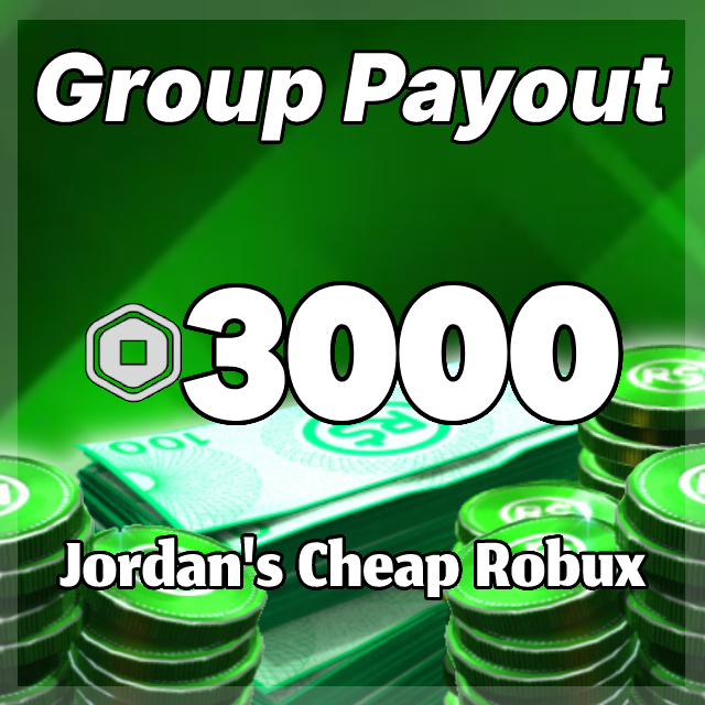Buy Robux With Group Payouts