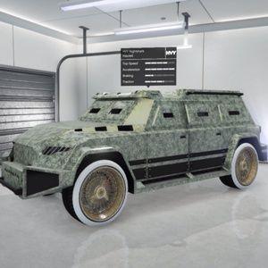 Vehicle   Modded HVY Nightshark