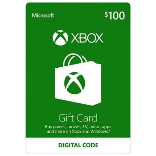 $100.00 Xbox Gift Card USA (Instant Delivery)