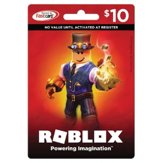 $10.00 Roblox USA - 800 ROBUX (Instant Delivery)