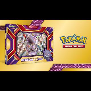 Pokemon Gengar EX Box Code