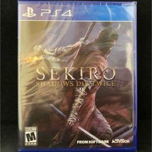 Sekiro Shadows Die Twice (PS4 / PlayStation 4)