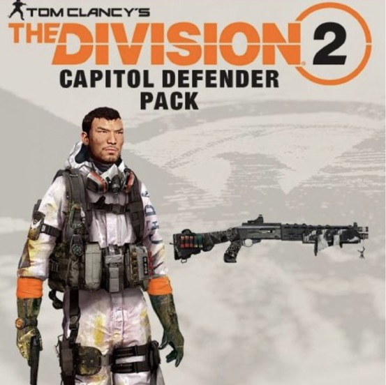 Tom Clancys The Division 2 - Capitol Defender Pack DLC for XBOX One