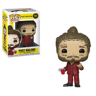Post Malone Pop! Vinyl Figure with Clear Protector