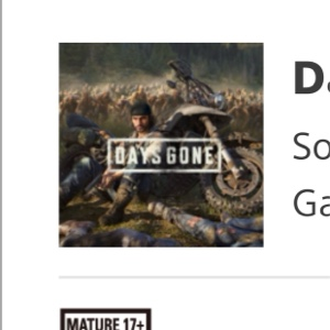 Days Gone Pre-Order Bonuses 8J
