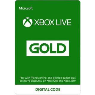 Microsoft - Xbox Live 3 Month Gold Membership [Digital instant]