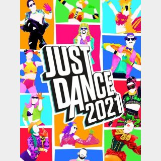 Just Dance 2021 - US ONLY - INSTANLY DELIVERY