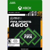 FIFA 21 FUT 4600 - XBOX - US ONLY - INSTANLY DELIVERY