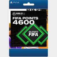 FIFA 21 Ultimate Team™ 4600 Points, Electronic Arts, PlayStation [Digital Download]US ONLY