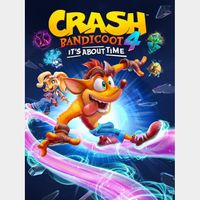 Crash Bandicoot 4: It's About Time - US ONLY - INSTANLY DELIVERY