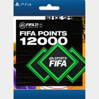 FIFA 21 Ultimate Team 12000 Points, Electronic Arts, PlayStation [Digital Download] - US ONLY - INSTANLY DELIVERY