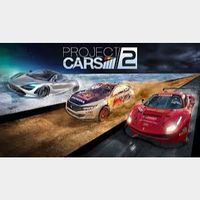 Project Cars 2 + Japanese Cars Bonus Pack Steam Key GLOBAL Instant