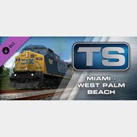 Train Simulator Miami - West Palm Beach Route Add-On Steam Global Instant