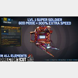 Shield   SUPER SOLDIER MOD LVL 1