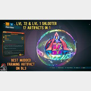 Artifact   LVL 1 or 72 SHLOOTER MOD