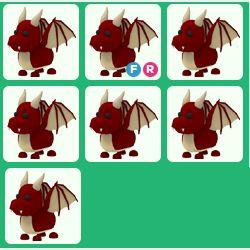 Pet   7x Red Dragon Bundle